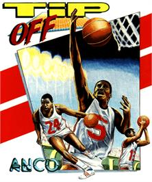 Box cover for Tip Off on the Commodore Amiga.