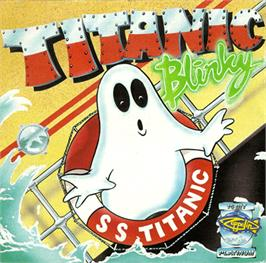 Box cover for Titanic Blinky on the Commodore Amiga.