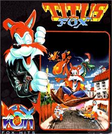 Box cover for Titus the Fox: To Marrakech and Back on the Commodore Amiga.