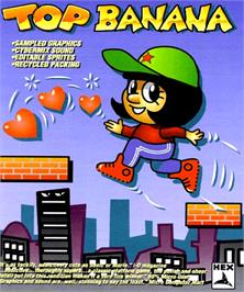 Box cover for Top Banana on the Commodore Amiga.