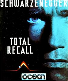 Box cover for Total Recall on the Commodore Amiga.