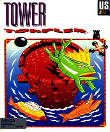 Box cover for Tower Toppler on the Commodore Amiga.