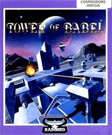 Box cover for Tower of Babel on the Commodore Amiga.