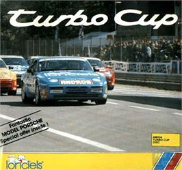 Box cover for Turbo Cup on the Commodore Amiga.