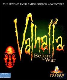 Box cover for Valhalla: Before the War on the Commodore Amiga.