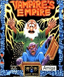 Box cover for Vampire's Empire on the Commodore Amiga.