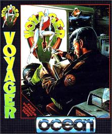 Box cover for Voyager on the Commodore Amiga.