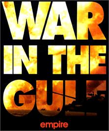 Box cover for War in the Gulf on the Commodore Amiga.
