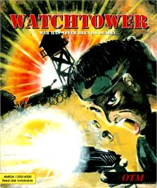 Box cover for Watchtower on the Commodore Amiga.