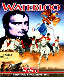 Box cover for Waterloo on the Commodore Amiga.