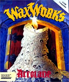 Box cover for Waxworks on the Commodore Amiga.
