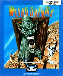 Box cover for Weird Dreams on the Commodore Amiga.