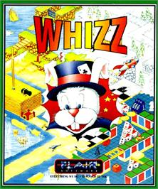 Box cover for Whizz on the Commodore Amiga.