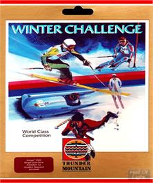 Box cover for Winter Challenge: World Class Competition on the Commodore Amiga.