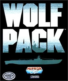 Box cover for WolfPack on the Commodore Amiga.
