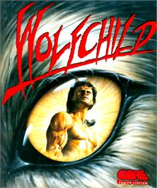 Box cover for Wolfchild on the Commodore Amiga.