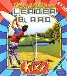 Box cover for World Class Leaderboard on the Commodore Amiga.