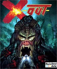 Box cover for X-Out on the Commodore Amiga.