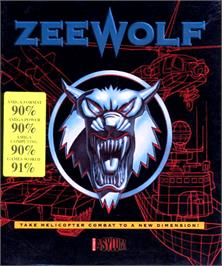 Box cover for Zeewolf on the Commodore Amiga.