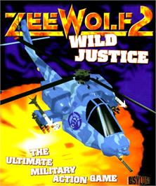 Box cover for Zeewolf 2: Wild Justice on the Commodore Amiga.