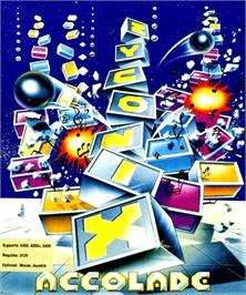 Box cover for Zyconix on the Commodore Amiga.