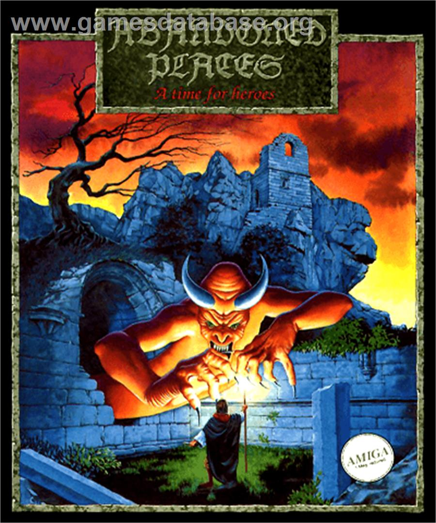 cover for Abandoned Places: A Time for Heroes on the Commodore Amiga