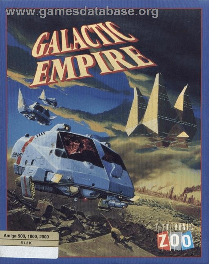 Galactic Empire - Commodore Amiga - Artwork - Box
