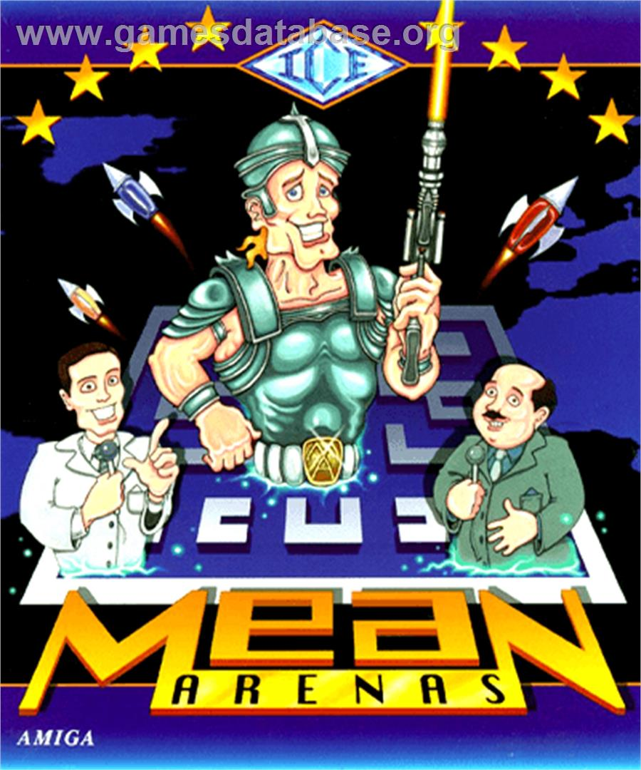 Mean Arenas - Commodore Amiga - Artwork - Box