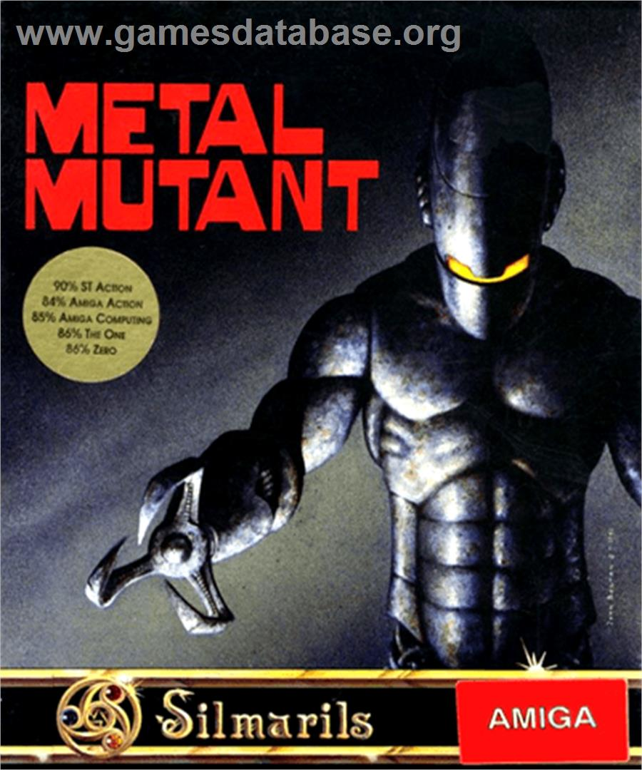 Metal Mutant - Commodore Amiga - Artwork - Box