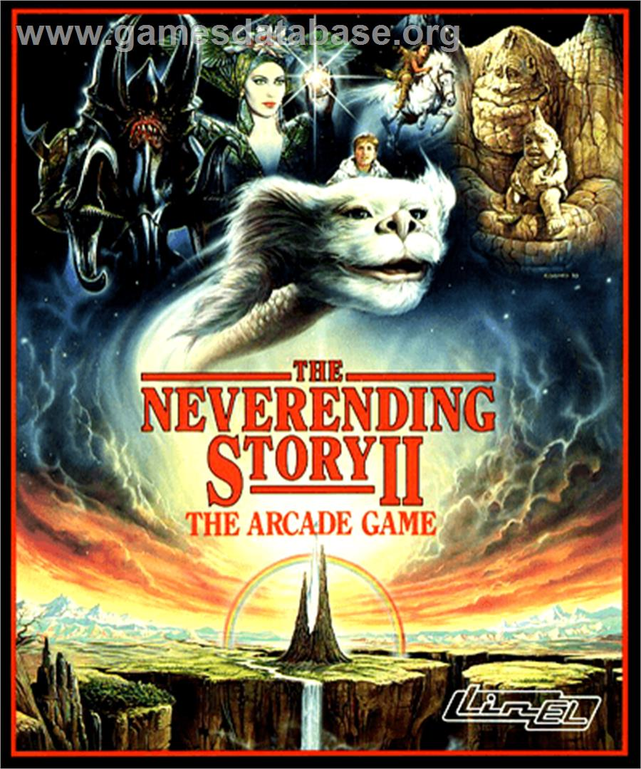 Box Cover For Neverending Story 2 On The Commodore Amiga.