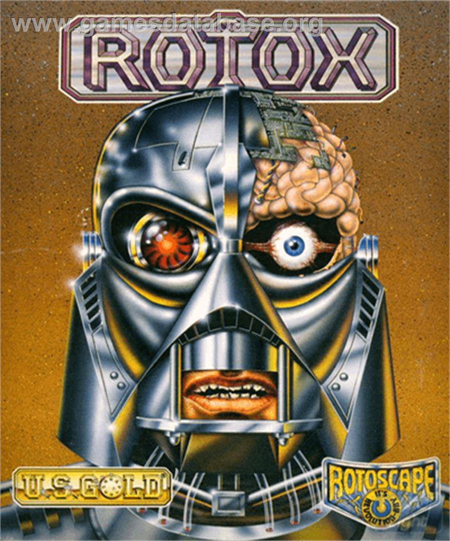 Rotox - Commodore Amiga - Artwork - Box