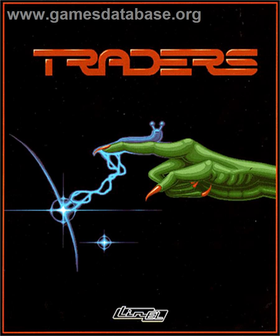 Traders: The Intergalactic Trading Game - Commodore Amiga - Artwork - Box
