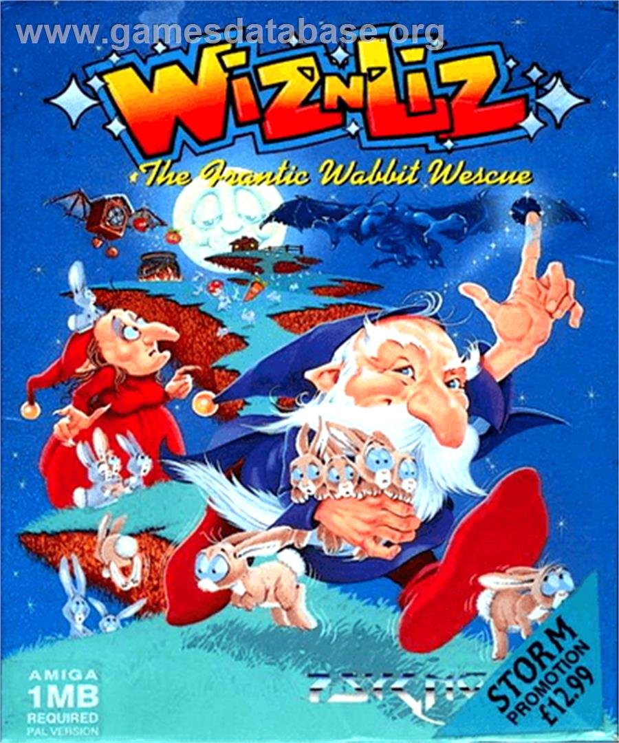 for Wiz 'n' Liz: The Frantic Wabbit Wescue on the Commodore Amiga