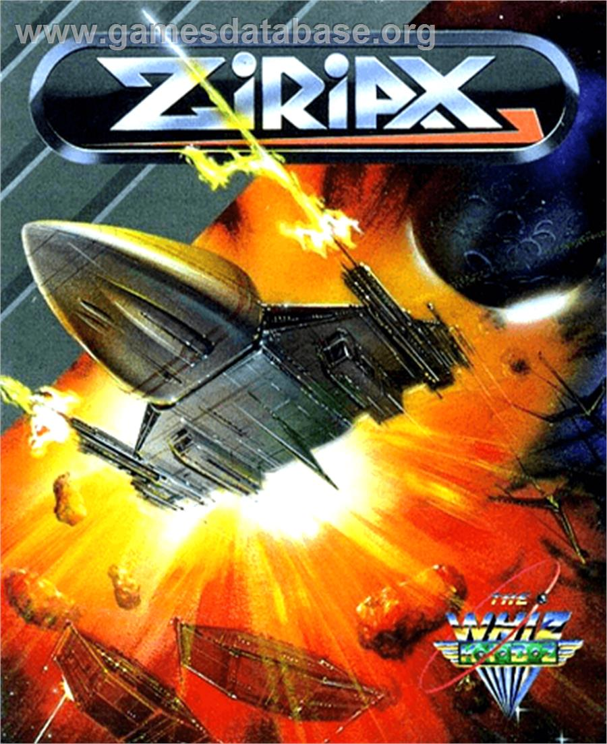 Box cover for Ziriax on the Commodore Amiga.
