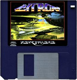 Cartridge artwork for Cytron on the Commodore Amiga.