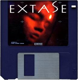 Cartridge artwork for Extase on the Commodore Amiga.