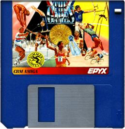 Cartridge artwork for Games: Summer Edition on the Commodore Amiga.
