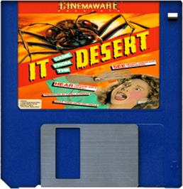 Cartridge artwork for It Came from the Desert on the Commodore Amiga.
