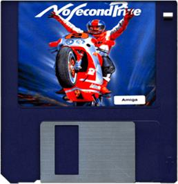 Cartridge artwork for No Second Prize on the Commodore Amiga.