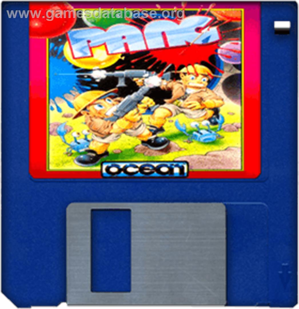 Pang - Commodore Amiga - Artwork - Cartridge