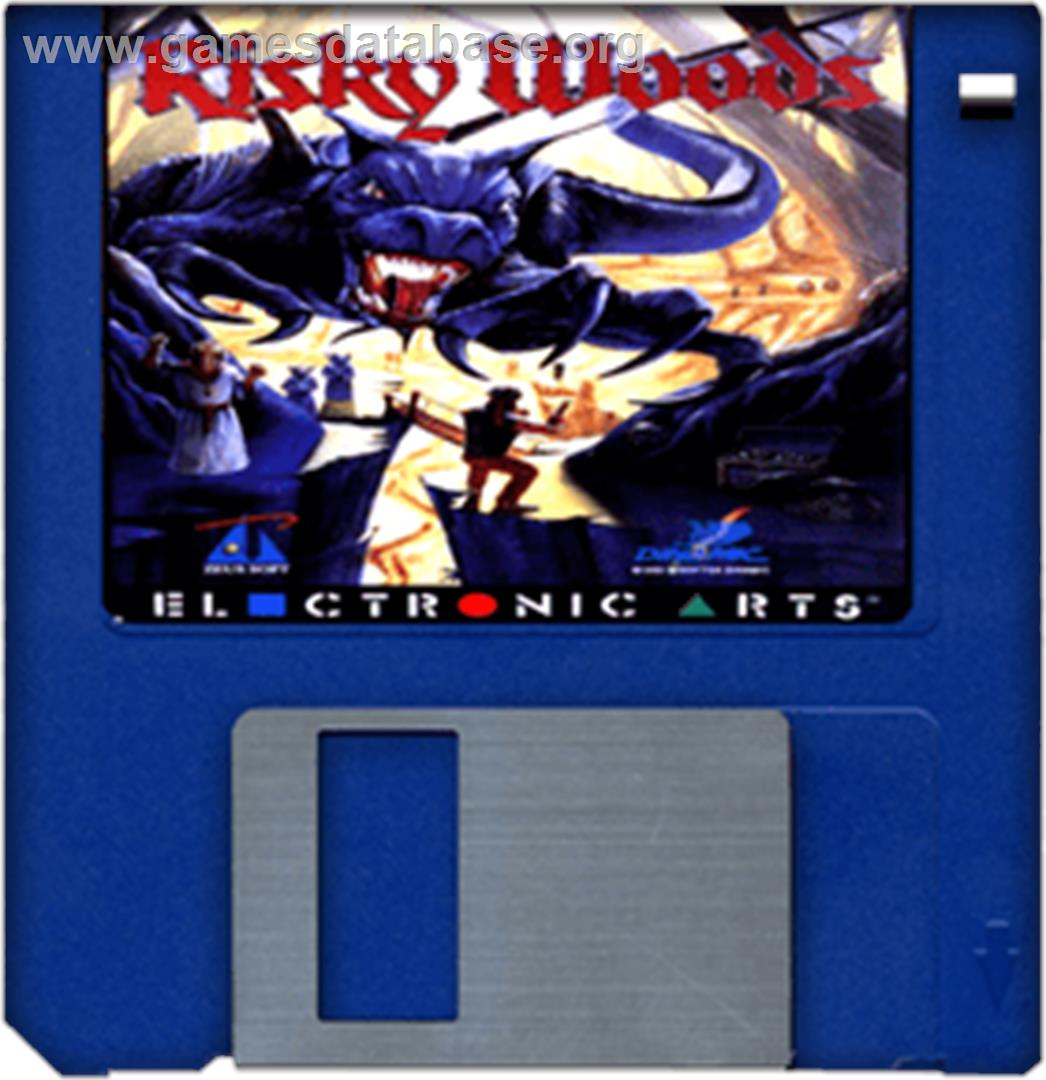 Risky Woods - Commodore Amiga - Artwork - Cartridge
