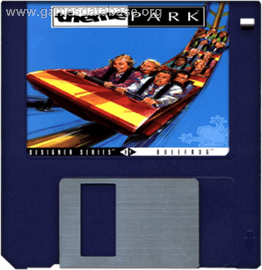 Theme Park - Commodore Amiga - Artwork - Cartridge