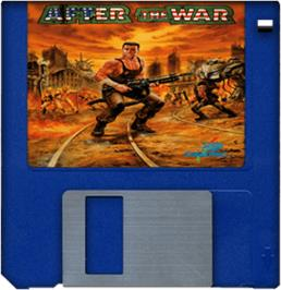 Artwork on the Disc for After the War on the Commodore Amiga.