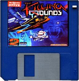 Artwork on the Disc for Alien Breed 3D II: The Killing Grounds on the Commodore Amiga.
