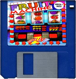 Artwork on the Disc for Arcade Fruit Machine on the Commodore Amiga.