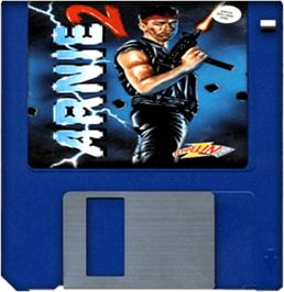 Artwork on the Disc for Arnie 2 on the Commodore Amiga.
