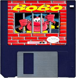 Artwork on the Disc for BoBo on the Commodore Amiga.