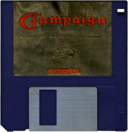 Artwork on the Disc for Campaign on the Commodore Amiga.