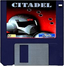 Artwork on the Disc for Citadel on the Commodore Amiga.