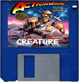 Artwork on the Disc for Creature on the Commodore Amiga.